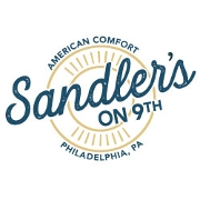 This is the restaurant logo for Sandler's on 9th