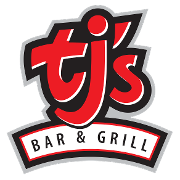 This is the restaurant logo for TJ's Bar and Grill