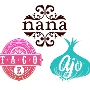 Restaurant logo for Nana, Ajo & Taco E