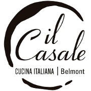 This is the restaurant logo for Il Casale Belmont