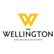 This is the restaurant logo for The Wellington