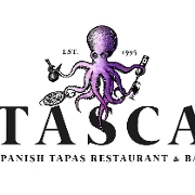 This is the restaurant logo for Tasca Restaurant
