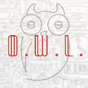 This is the restaurant logo for O.W.L.