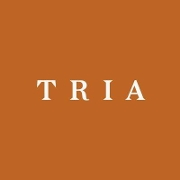 This is the restaurant logo for Tria Cafe Rittenhouse