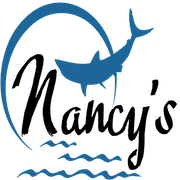 This is the restaurant logo for Nancy's Restaurant & Snack Bar