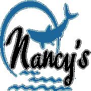 This is the restaurant logo for Nancy's Restaurant & Snack Bar