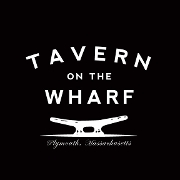 This is the restaurant logo for Tavern on the Wharf