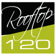 This is the restaurant logo for Rooftop 120
