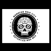 This is the restaurant logo for Momocho