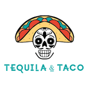 This is the restaurant logo for Tequila & Taco