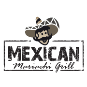 This is the restaurant logo for Mexican Mariachi Grill y Tequila Bar