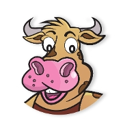 This is the restaurant logo for Burger Barn