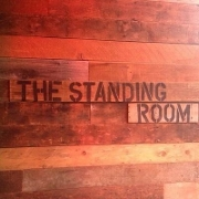 This is the restaurant logo for The Standing Room