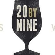 This is the restaurant logo for 20byNine