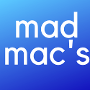 Restaurant logo for Mad Mac's Sandwich Shop