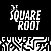 This is the restaurant logo for The Square Root