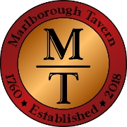 This is the restaurant logo for Marlborough Tavern