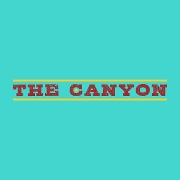 This is the restaurant logo for The Canyon