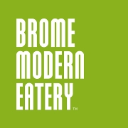 This is the restaurant logo for Brome Modern Eatery