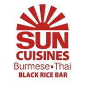 This is the restaurant logo for Sun Cuisines