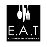 This is the restaurant logo for E.A.T Marketplace