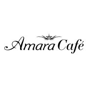 This is the restaurant logo for Amara Chocolate & Coffee