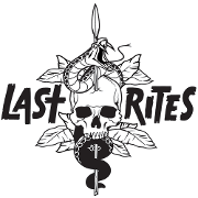 This is the restaurant logo for Last Rites