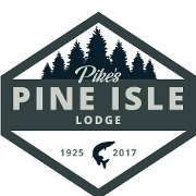 This is the restaurant logo for Pike's Pine Isle Lodge