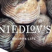 This is the restaurant logo for Niedlov's Bakery & Cafe