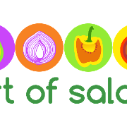 This is the restaurant logo for Art of Salad