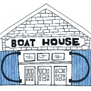 This is the restaurant logo for Boat House