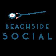 This is the restaurant logo for Beachside Social
