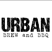 This is the restaurant logo for Urban Brew & BBQ