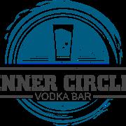 This is the restaurant logo for Inner Circle Vodka Bar