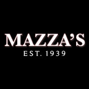 This is the restaurant logo for Mazza's