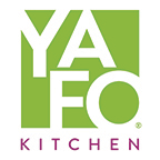 This is the restaurant logo for Yafo Kitchen