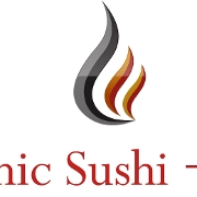 This is the restaurant logo for Volcanic Sushi+Sake