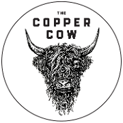 This is the restaurant logo for Copper Cow