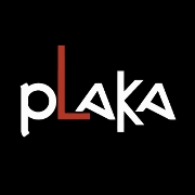This is the restaurant logo for Plaka Grill