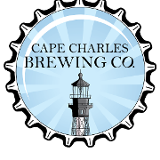 This is the restaurant logo for Cape Charles Brewing