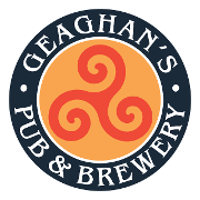 This is the restaurant logo for Geaghan's Pub & Craft Brewery