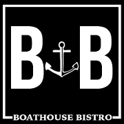 This is the restaurant logo for Boathouse Bistro