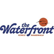 This is the restaurant logo for The Waterfront Venice