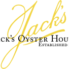 This is the restaurant logo for Jack's Oyster House