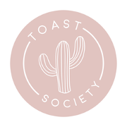 This is the restaurant logo for Toast Society