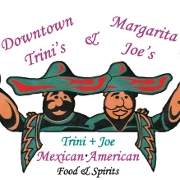 This is the restaurant logo for Downtown Trini's and Margarita Joe's