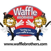 This is the restaurant logo for Waffle Brothers