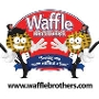 Restaurant logo for Waffle Brothers