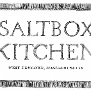 This is the restaurant logo for Saltbox Kitchen