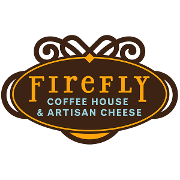 This is the restaurant logo for Firefly Coffeehouse